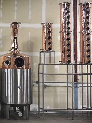 New Basin Distilling Company/new still coming